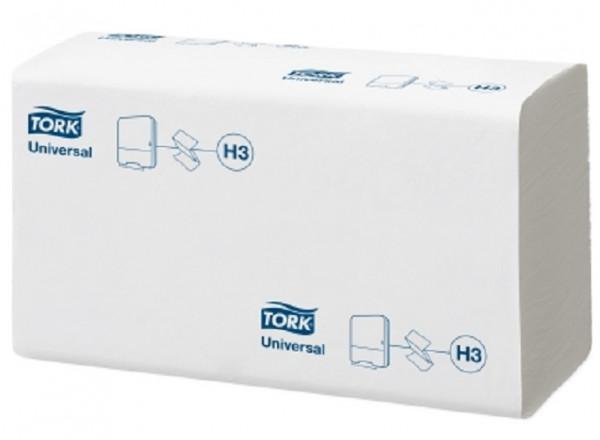 Tork Z-Falz Handtuchpapier H3, 4500 Blatt, 1-lg, 23 x 23 cm, hochweiß - 290158