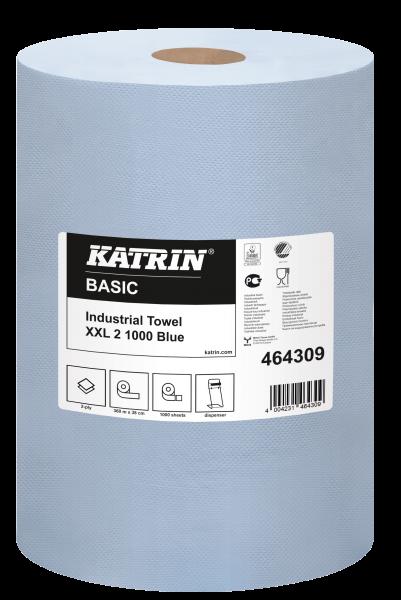 Katrin Basic Putzpapierrolle 2-lg, 38x36cm - 464309