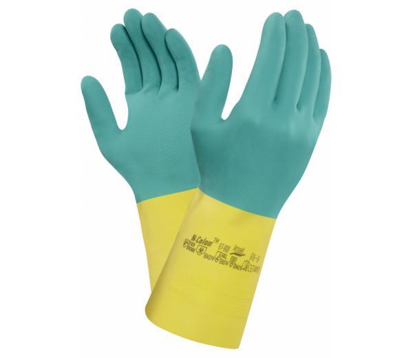 Ansell - Handschuh AlphaTec 87-900 Chemikalienschutzhandschuh (Bi-Colour™)