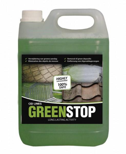 Cid Lines - Grünbelagentferner Greenstop gegen Moos und Algen 10 Liter Kanister