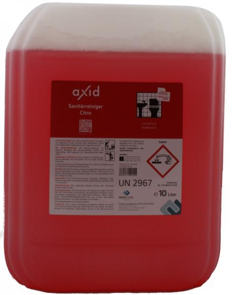 Axid - Sanitärreiniger Citro 10L Kanister (ehemals Clearfixxx)
