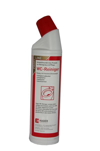 Hager - WC - Reiniger 750 ml Rundhalsflasche