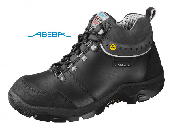 ABEBA Sicherheitsschuh Anatom 2168 32168 ESD S2 Knöchelschuh Stiefel Arbeitsschuh schwarz