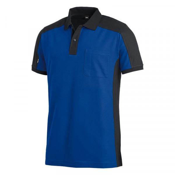 FHB Konrad Poloshirt Arbeitsshirt zweifarbig 91490 Größe XS - 5XL, in 9 Farben