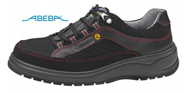 ABEBA Light 1056|31056 ESD Sicherheitsschuh S1 Halbschuh Stahlkappe Küchenschuh Arbeitsschuh schwarz