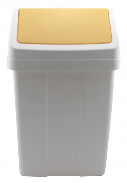 Meiko - Schwingdeckeleimer 12 Liter gelb - 938147
