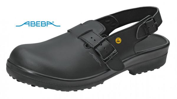 ABEBA Classic 1011|31011 ESD Sicherheitsschuh Clog Stahlkappe Küchenschuh Arbeitsschuh schwarz