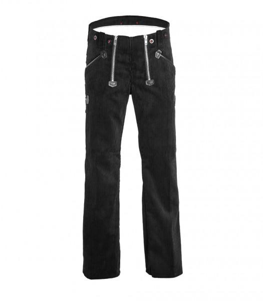 FHB Karl-Heinz Zunfthose Arbeitshose Trenkercord 50028 Größe 23 - 114, in schwarz