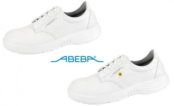 ABEBA X-Light 711126|7131126 ESD Berufsschuh Halbschuh Küchenschuh Arbeitsschuh weiß
