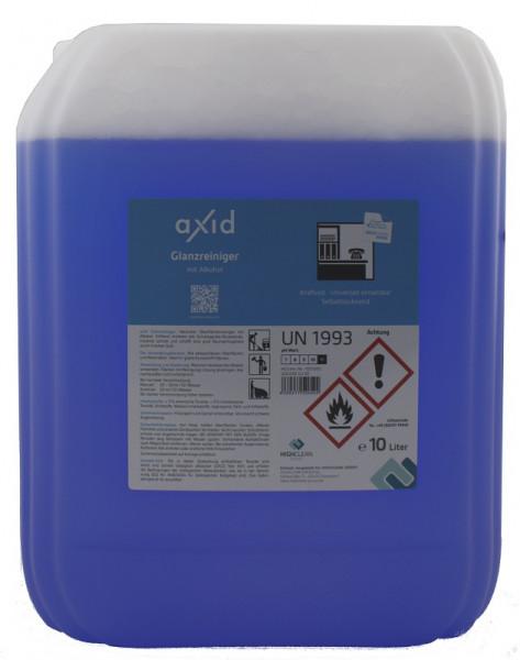 Axid - Glanzreiniger mit Alkohol 10L Kanister (ehemals Clearfixxx)