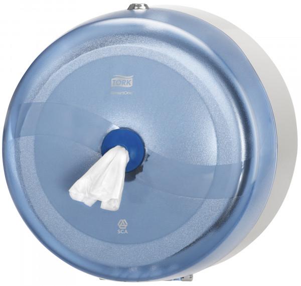 Tork (T8) Wave SmartOne® Toilettenpapierspender WC-Papier-Spender blau/transparent - 472024