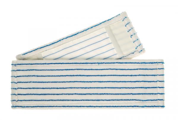 Meiko Micro-Borstenmopp weiß/blau 50 cm mit Tasche/Lasche - 942951