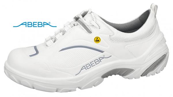 ABEBA Crawler Alu 4500|34500 ESD Sicherheitsschuh S2 Halbschuh Kochschuh Küchenschuh weiß