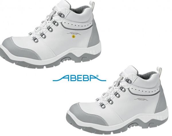 ABEBA Sicherheitsschuh Anatom 2172|32172 ESD S2 Knöchelschuh Stiefel Arbeitsschuh weiß