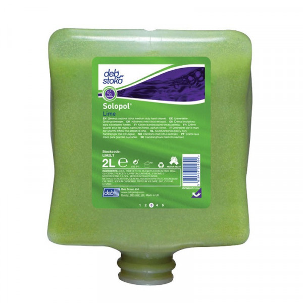 Solopol® Lime 2 Liter (ehemals Deb® Lime Wash)