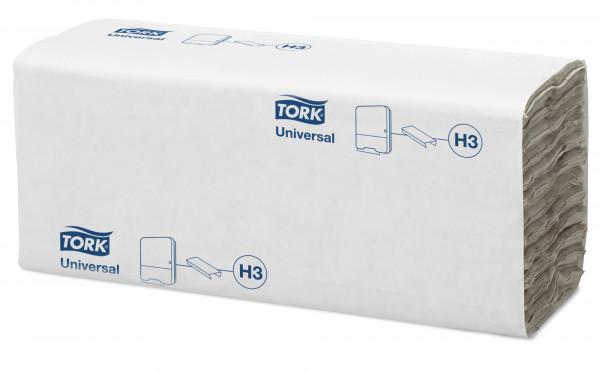 Tork (H3) C-Falz Handtuchpapier, 4608 Blatt, 1-lg, 25 x 31 cm, weiß - 120181