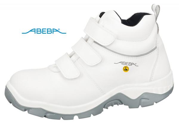 ABEBA Sicherheitsschuh Anatom 2280|32280 ESD S3 Knöchelschuh Stiefel Arbeitsstiefel weiß