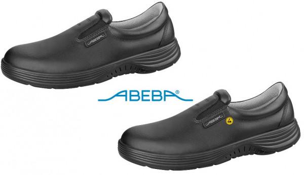 ABEBA X-Light 711037|7131037 ESD Sicherheitsschuh S2 Halbschuh Stahlkappe Küchenschuh Arbeitsschuh schwarz