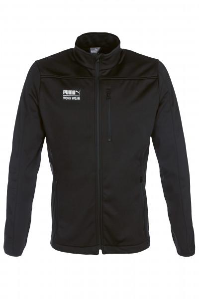 Puma Workwear Softshell-Jacke Arbeitsjacke Softshelljacke 30-6000 Größe XS - 5XL, in schwarz