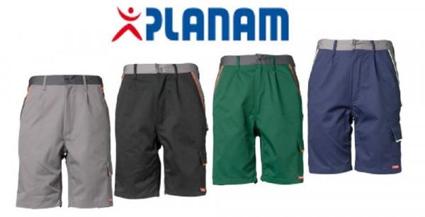 Planam Visline Shorts Größe XS - 4XL, in 4 Farben