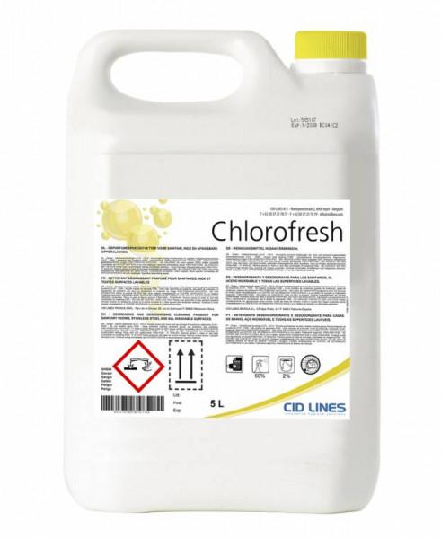 Cid Lines - Chlorofresh 4 x 5 Liter Kanister Sanitärreiniger