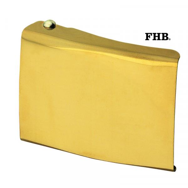 FHB Edwin Koppelschloss Arbeitsgürtel Gürtel Koppel -ohne Applikation- 87100 Gold
