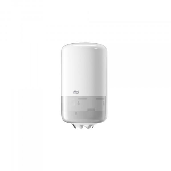 Tork (M1) Mini Innenabrollungsspender für Papierwischtücher Handtuchrolle weiß - 558000iß - 558000