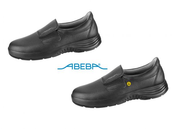 ABEBA X-Light 711029|7131029 ESD Sicherheitsschuh S2 S2 Halbschuh Küchenschuh Arbeitsschuh schwarz