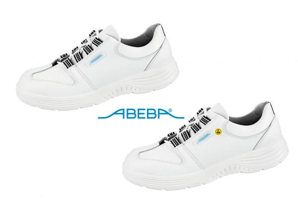 ABEBA X-Light 711133|7131133 ESD Berufsschuh Halbschuh Küchenschuh Arbeitsschuh weiß
