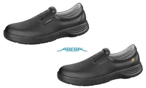 ABEBA X-Light 711137|7131137 ESD Berufsschuh Slipper Küchenschuh Arbeitsschuh schwarz