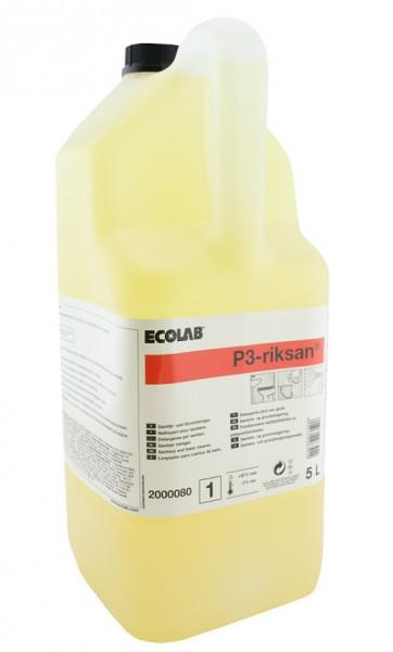 Ecolab - P3 Riksan® Sanitär- und Grundreiniger 5 Liter