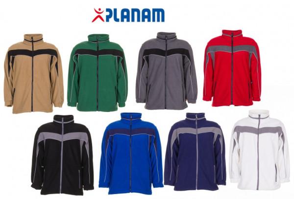 Planam Plaline Fleecejacke Arbeitsjacke Größe XS - 4XL, in 8 Farben