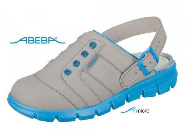 ABEBA Dynamic 7362 | 37362 ESD Berufsschuh Clog grau/blau