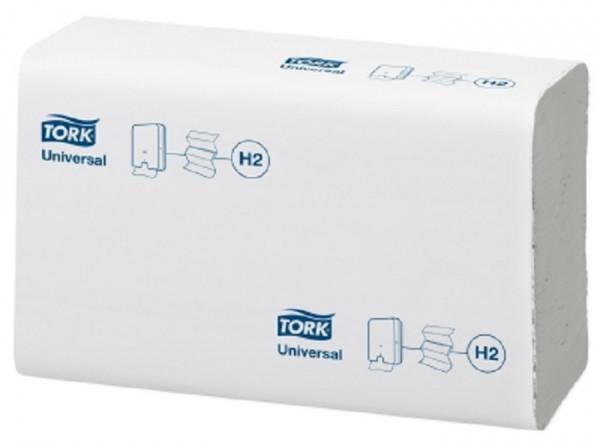 Tork Xpress® (H2) Universal Multifold Handtuchpapier, 4740 Blatt, 2-lg, 21 x 26 cm, hochweiß - 15029