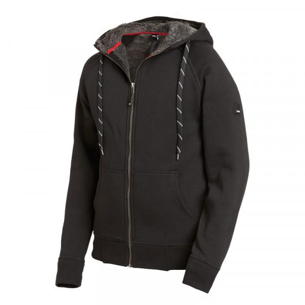FHB Jörg Sweater-Jacke Hoodie Gr. XS - 3XL schwarz
