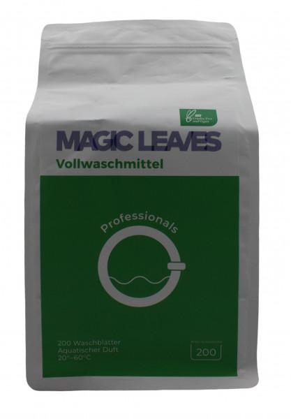 Magic Leaves Waschmittelblätter Vollwaschmittel 200 Blatt