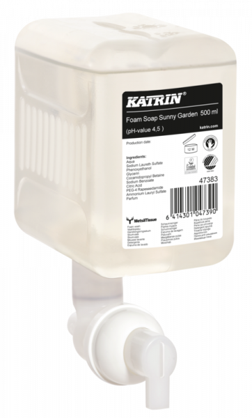 Katrin Handwaschschaum Sunny Garden 12x500 ml - 47383