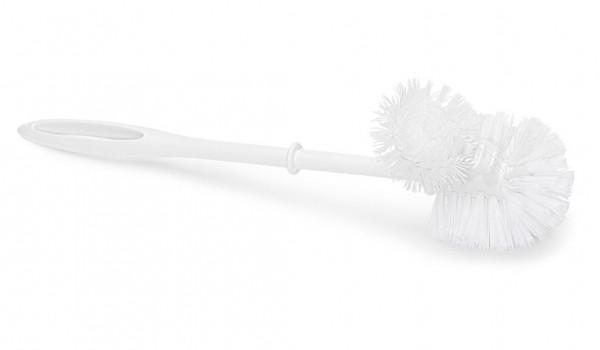 Nölle - Toilettenbürste weiße Schmutzzone mit Randreiniger 38 cm 382502