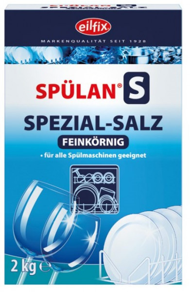 Eilfix - Spülan Regeneriersalz fein 2 Kg