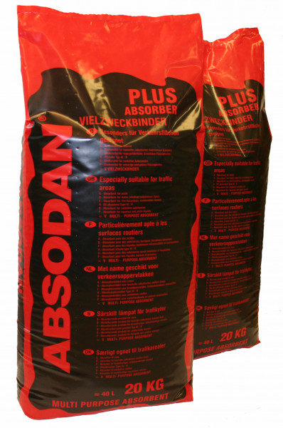 Ölbindemittel Absodan Plus Körnung 0,5 - 1mm, 20 Kg Sack - 72000888