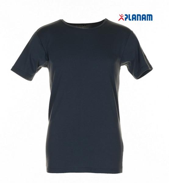 Planam Funktionswäsche Shirt kurzarm 190g/m² Unterwäsche Winter 2241 Grau