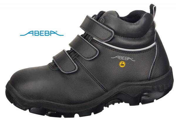 ABEBA Sicherheitsschuh Anatom 2281|32281 ESD S3 Knöchelschuh Stiefel Arbeitsstiefel schwarz