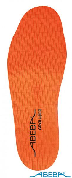 ABEBA Crawler Stahl 350623-S auswechselbare Soft Comfort Ersatz Einlegesohle