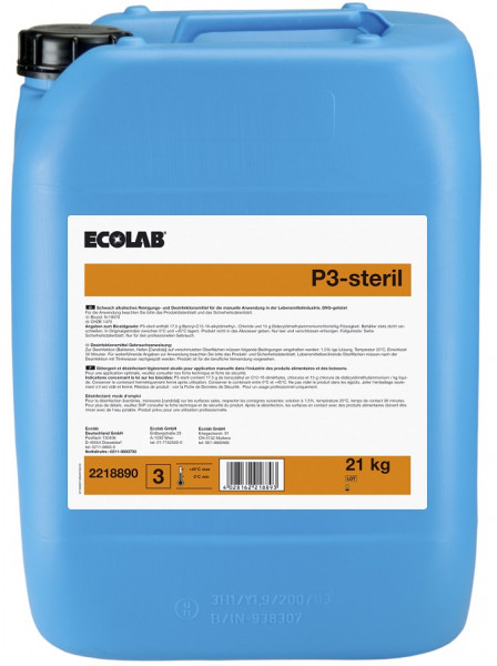 Ecolab - P3-steril® 21 Kg