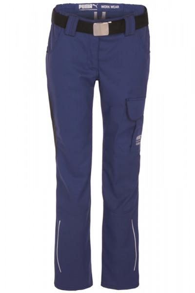 Puma Workwear Damen Bundhose Arbeitshose 30-1620D Blau-Anthrazit
