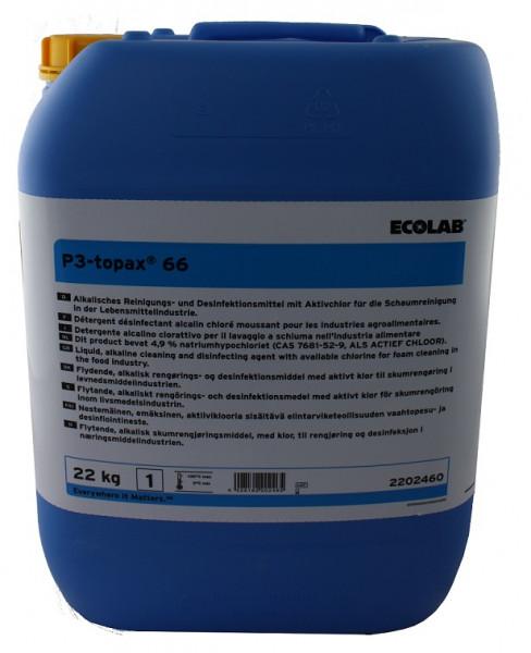 Ecolab - P3-Topax 66 22 kg/Kanister