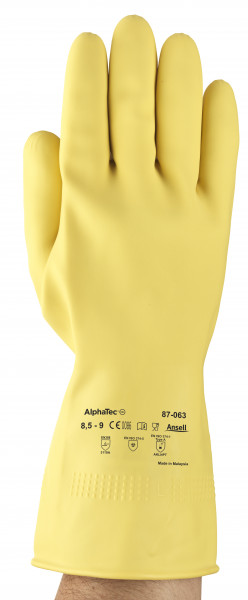 Ansell - Handschuh AlphaTec 87-063 (Marigold G04Y)