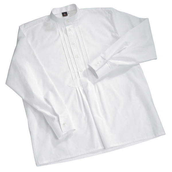 FHB Benny Kinder Zunfthemd kurzarm Staude Arbeitshemd 900090 Größe 92 - 164, in Weiß