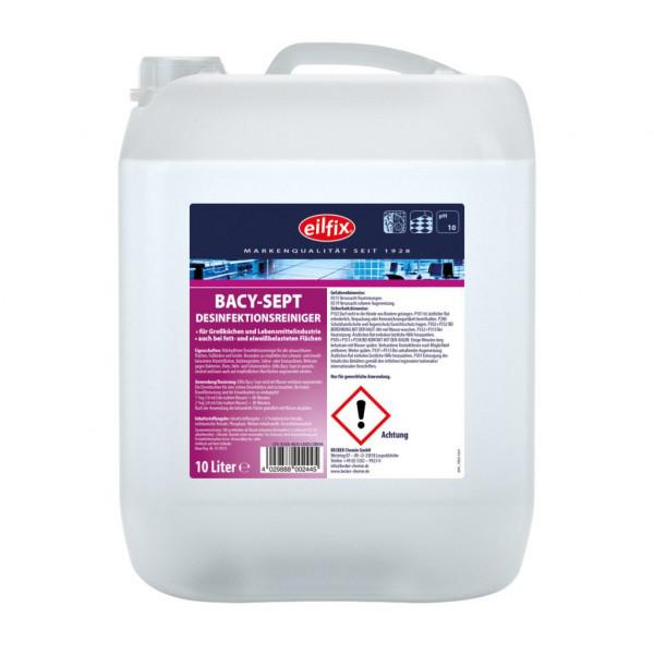 Bacy-Sept Desinfektionreiniger-Konzentrat 10 Liter