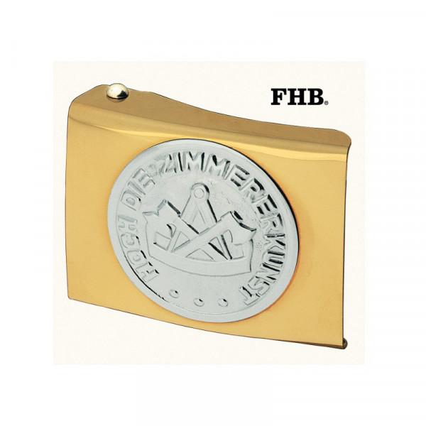 FHB Dominik Koppelschloss Arbeitsgürtel Gürtel Koppel -Zimmermann- 87010 Gold